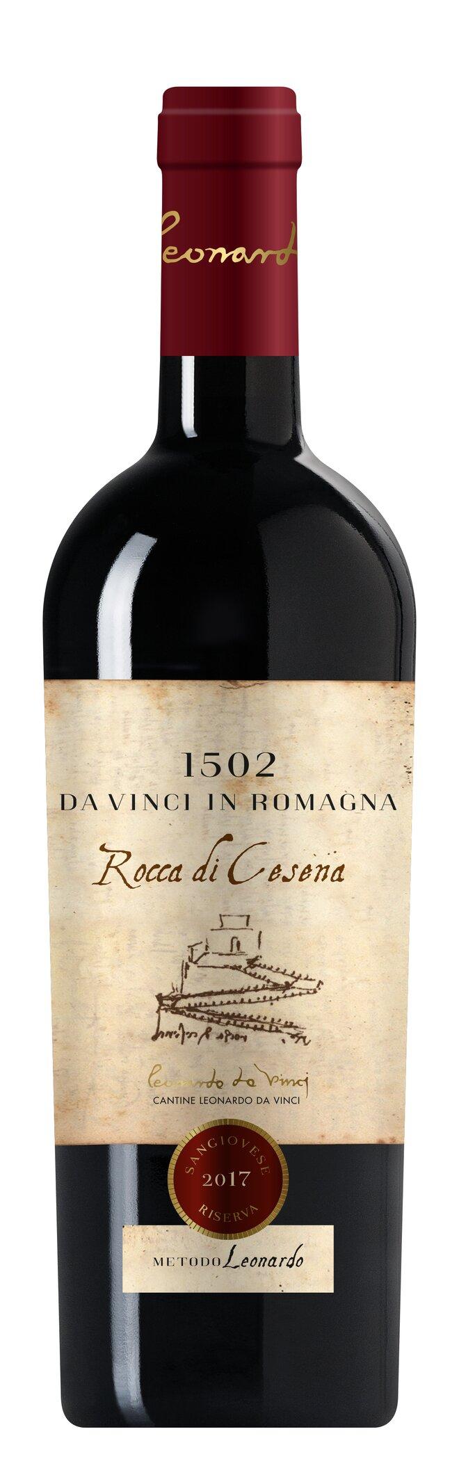 Červené víno Sangiovese Superiore Riserva DOC