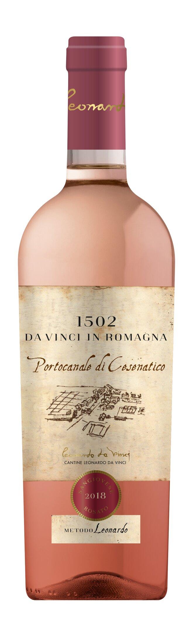 Růžové víno Rosato Sangiovese IGT
