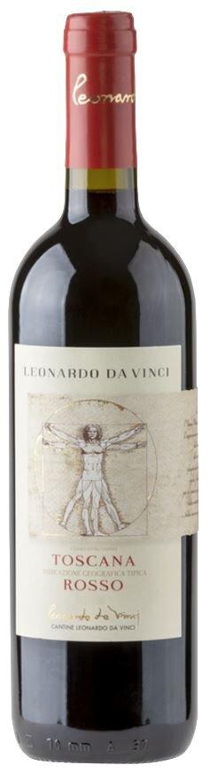 Červené víno Vitruviano Leonardo Rosso Toscana IGT