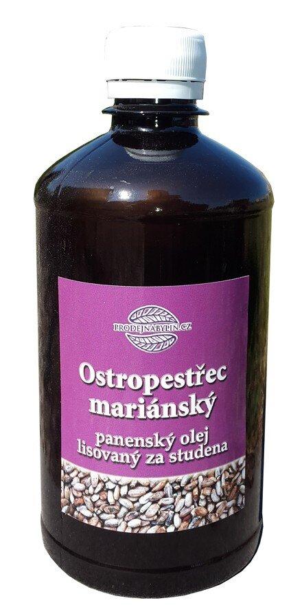 Ostropestřecový olej 500 ml