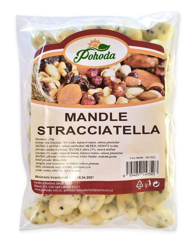 Mandle stracciatella, 250 g