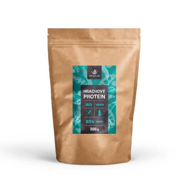 Allnature Hrachový protein 80% BIO, 200 g