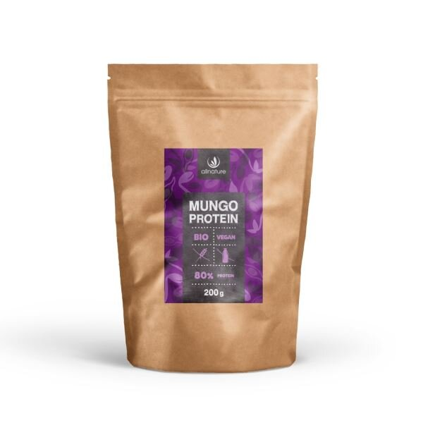 Allnature Mungo protein 80% BIO, 200 g
