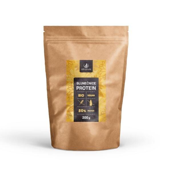 Allnature Slunečnice protein 50% BIO, 200 g