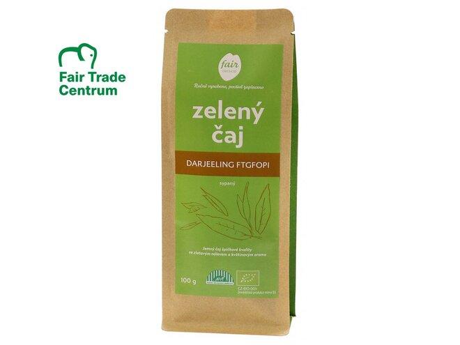 Bio zelený čaj Darjeeling FTGFOP1, sypaný (100 g)