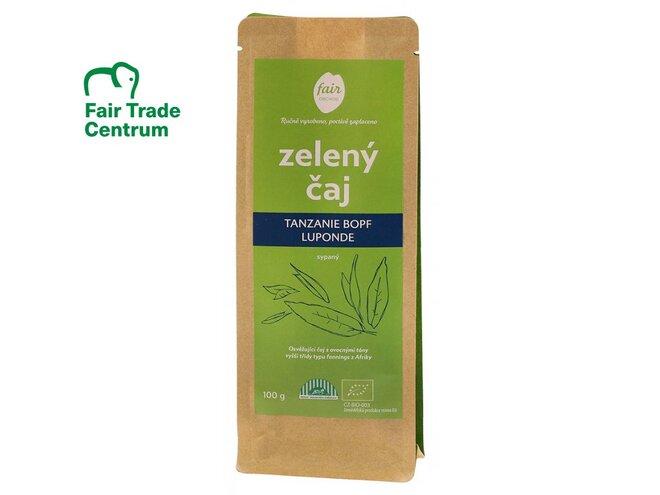Bio zelený čaj Tanzanie BOPF Luponde, sypaný (100 g)