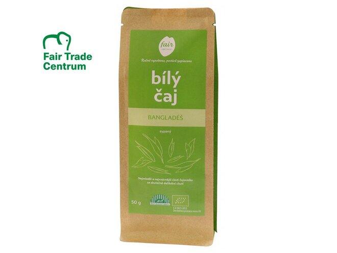 Bio bílý čaj z Bangladéše, sypaný (40 g)
