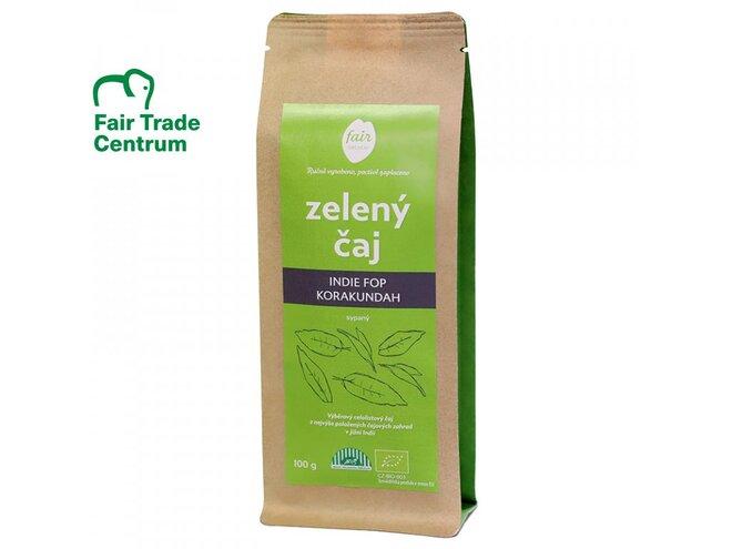 Bio zelený čaj Indie FOP Korakundah, sypaný (100 g)