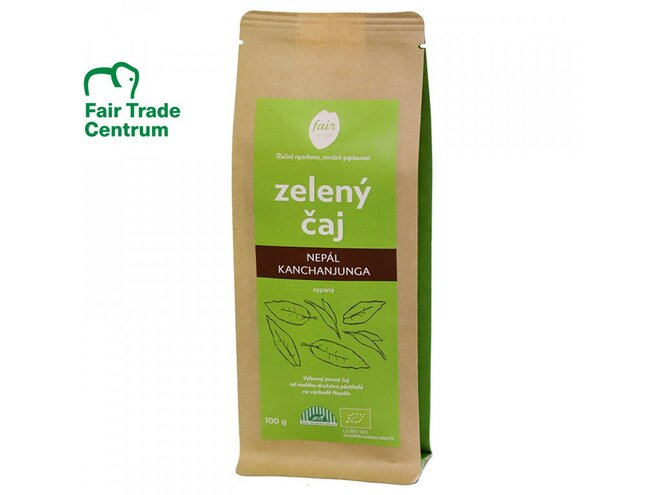 Bio zelený čaj Nepál Kanchanjunga, sypaný (100 g)