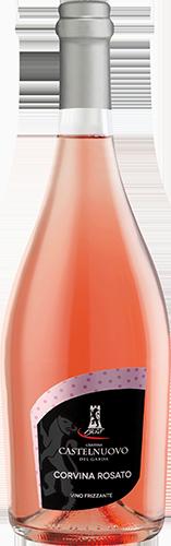 Corvina rosato frizzante, 0,75 l - růžové jemně perlivé