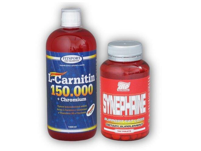 L-Carnitine (150000 mg) + Chromium, 1000 ml + Synephrine 100 tablet