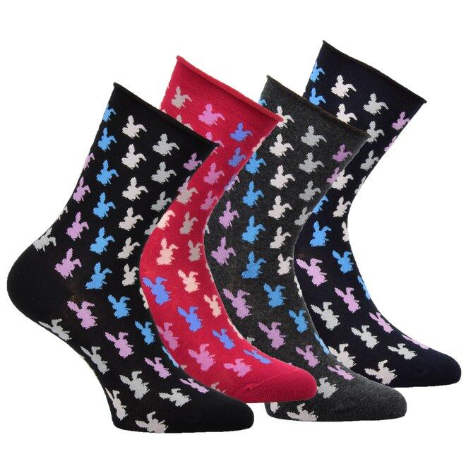 4x dámské ponožky 3413019
