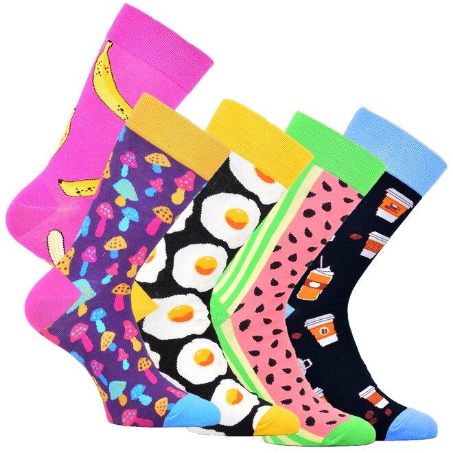 5x unisex ponožky 7100319