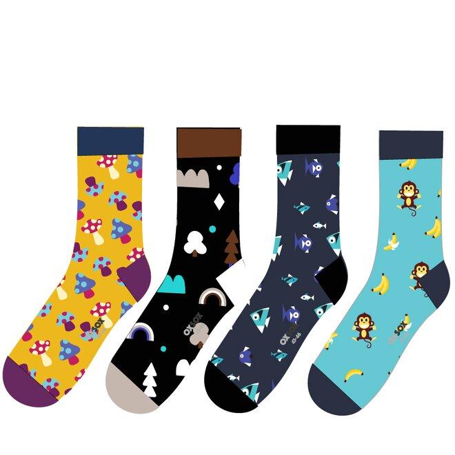 4x pánské ponožky OX71002