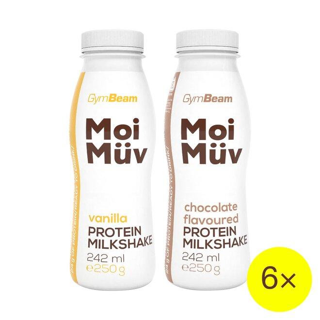 6× proteinový milkshake MoiMüv