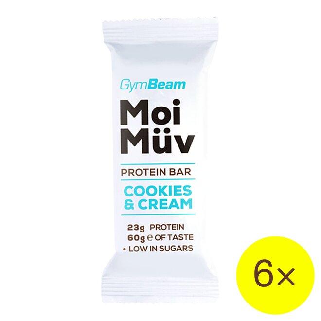 6× proteinová tyčinka MoiMüv