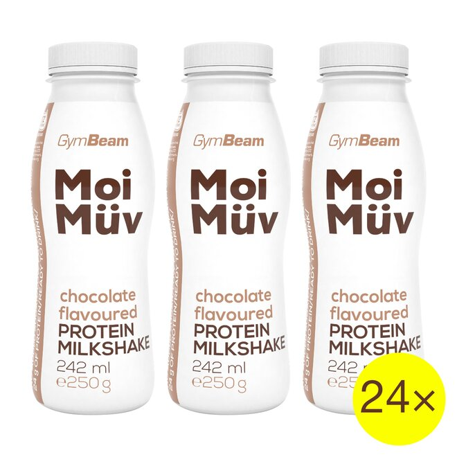 24× proteinový milkshake MoiMüv