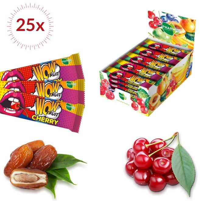 25× 30 g Tyčinek Wow Fruit Cherry