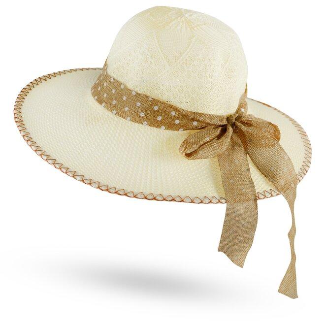 Dámský slaměný klobouk 17
