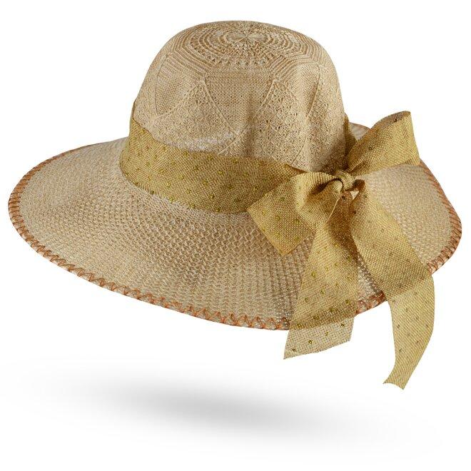 Dámský slaměný klobouk 1