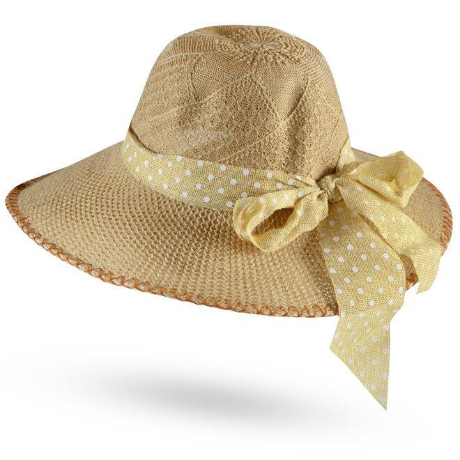 Dámský slaměný klobouk 2