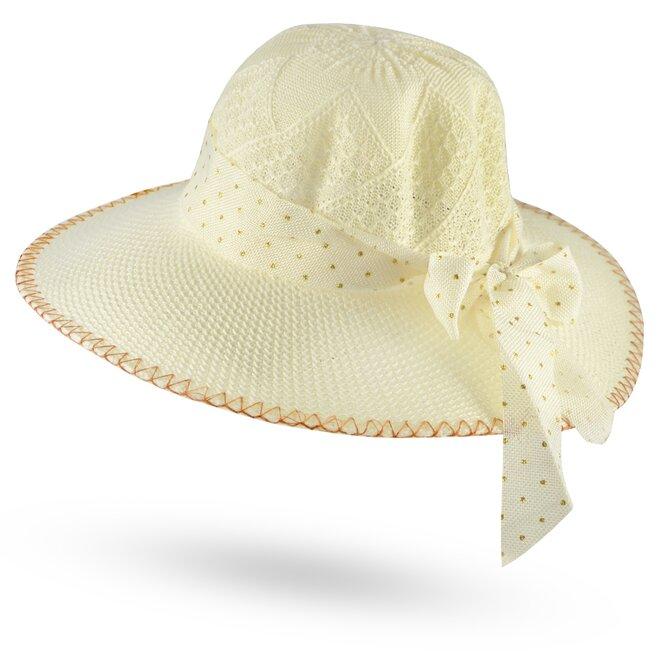 Dámský slaměný klobouk 10