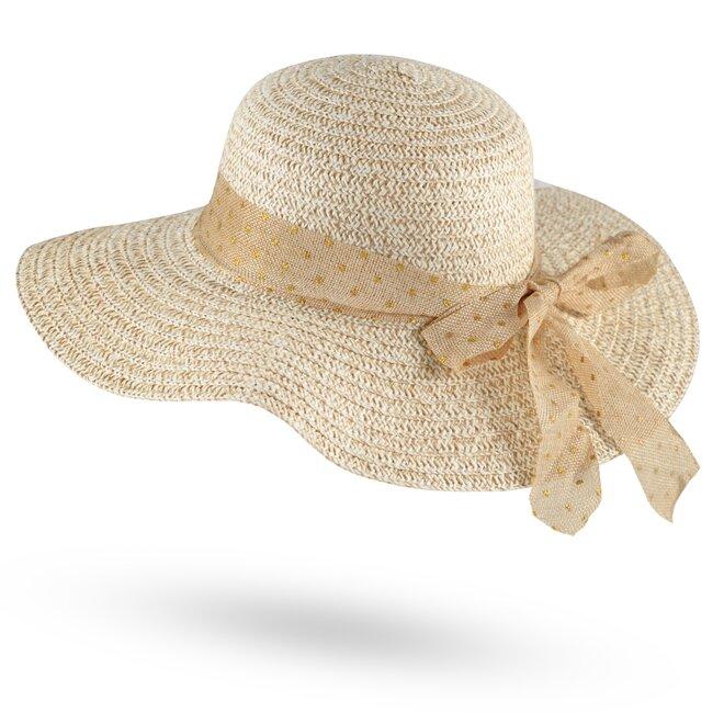 Dámský slaměný klobouk 18