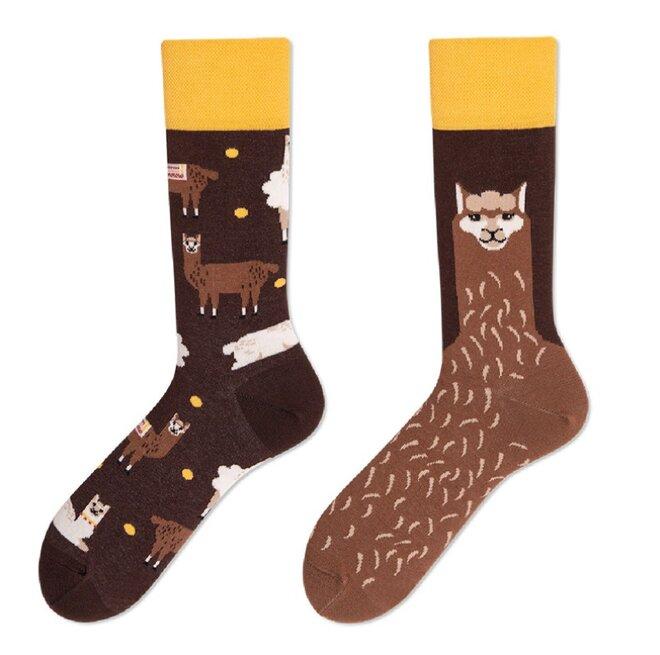 Vysoké ponožky - Lamy