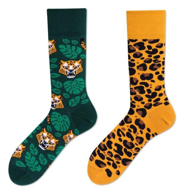 Vysoké ponožky - Džungle