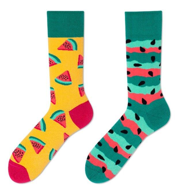 Vysoké ponožky - Meloun