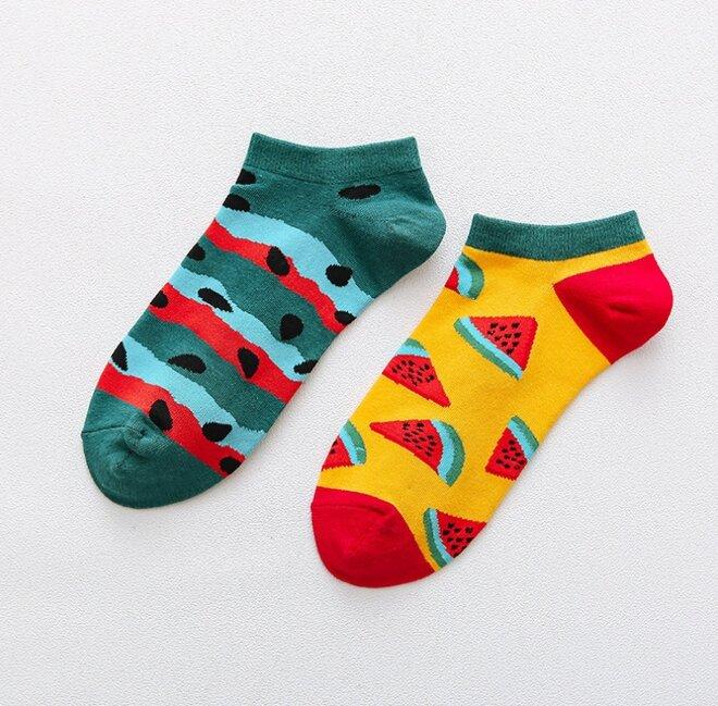 Kotníkové ponožky - Meloun