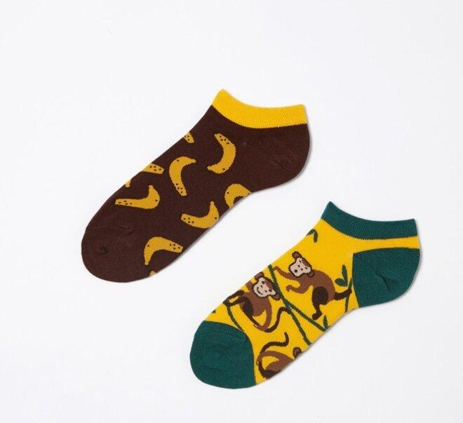 Kotníkové ponožky - Opice