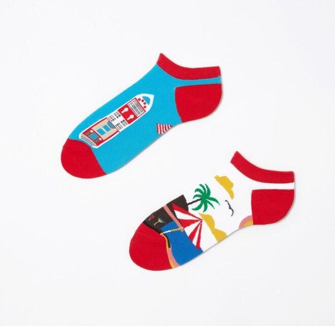 Kotníkové ponožky - Léto