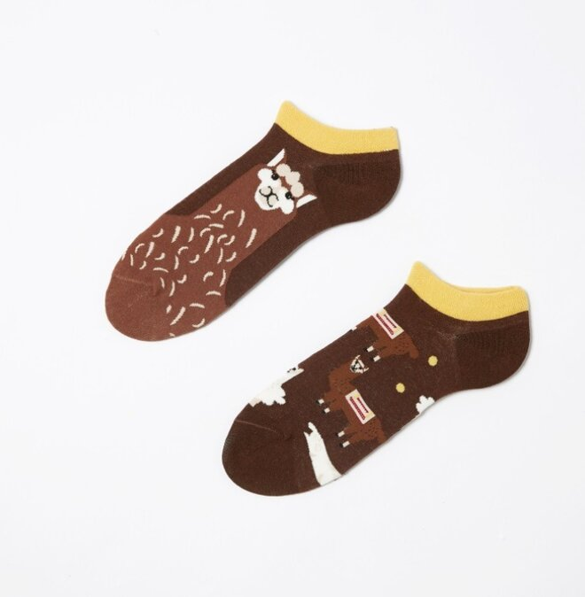 Kotníkové ponožky - Lamy