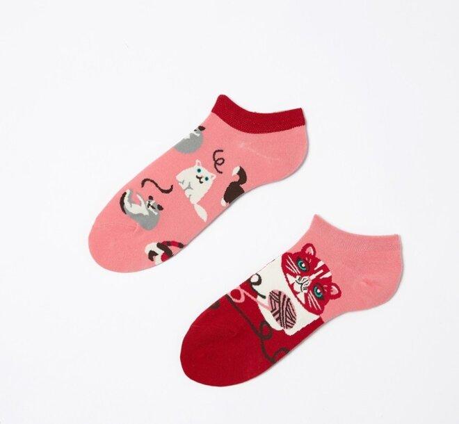 Kotníkové ponožky - Kočky