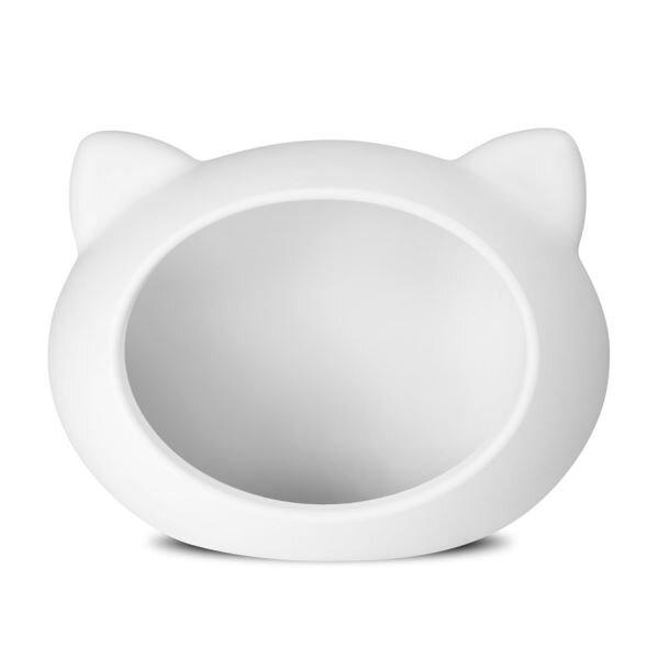 Guisapet plastový pelíšek pro kočky (51 x 35,3 x 44,5 cm) – bílá