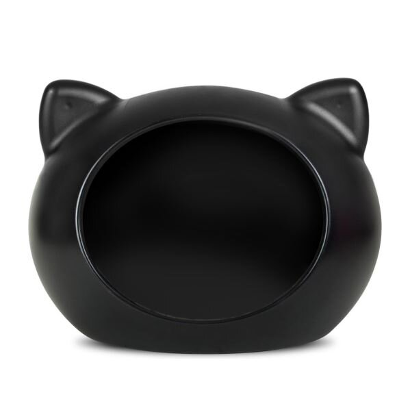 Guisapet plastový pelíšek pro kočky (51 x 35,3 x 44,5 cm) – černá