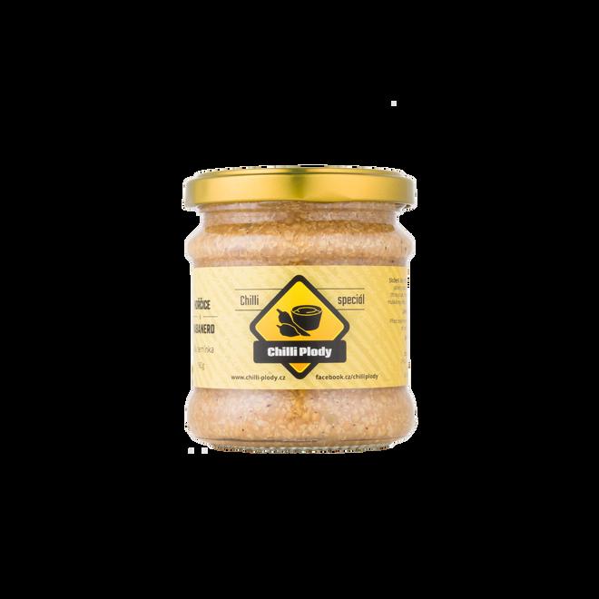 Chilli hořčice s bílými semínky, 160 g