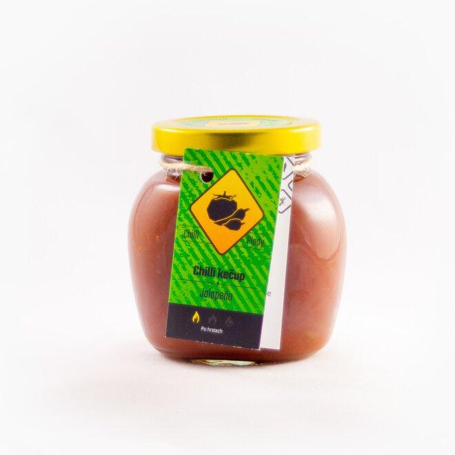 Chilli kečup s jalapeño, 200 ml
