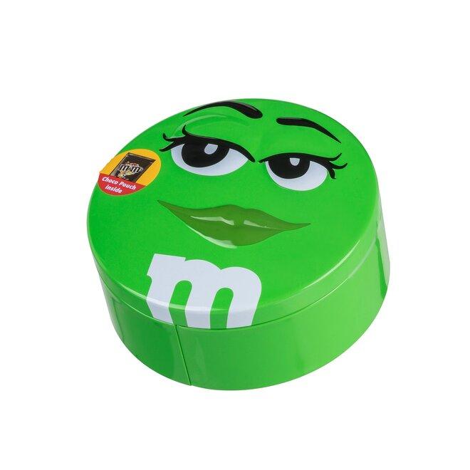Čokoládové M&M's v dóze, 200 g – zelená