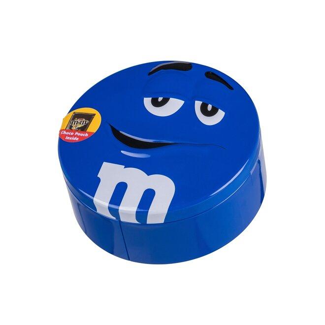 Čokoládové M&M's v dóze, 200 g – modrá