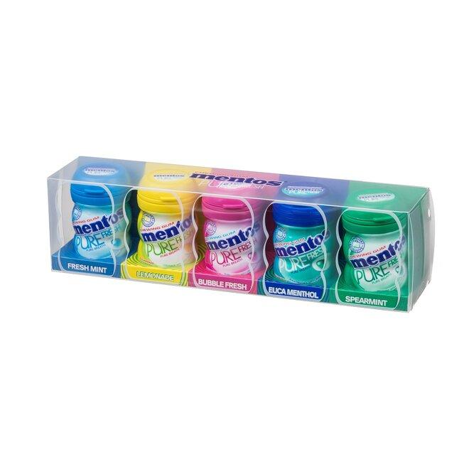 5 druhů Mentos Gum Gift, 100 g