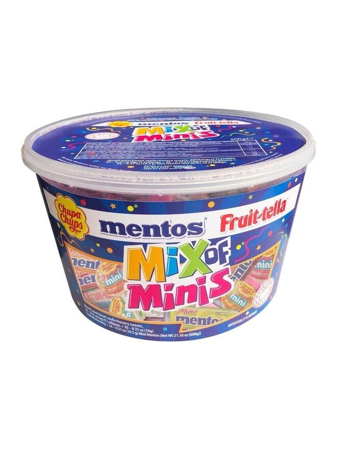 Mentos Mix Of Mini Silo, 600 g