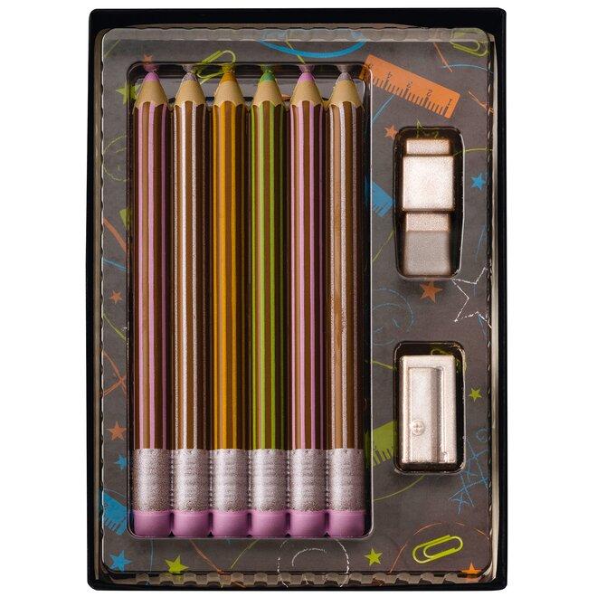 Čokoládové tužky