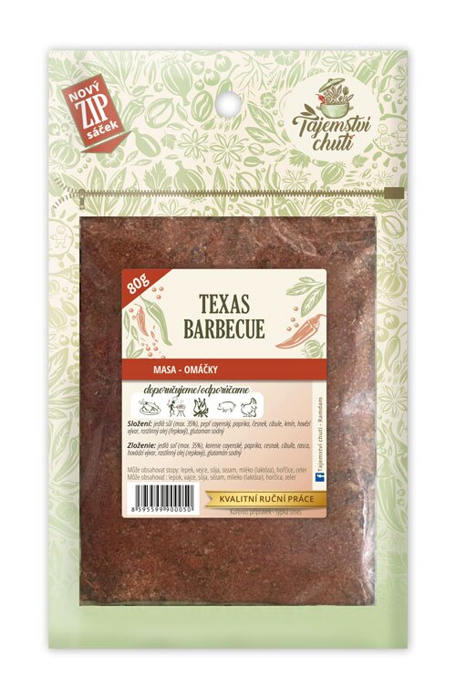 Texas – Barbecue, 80 g