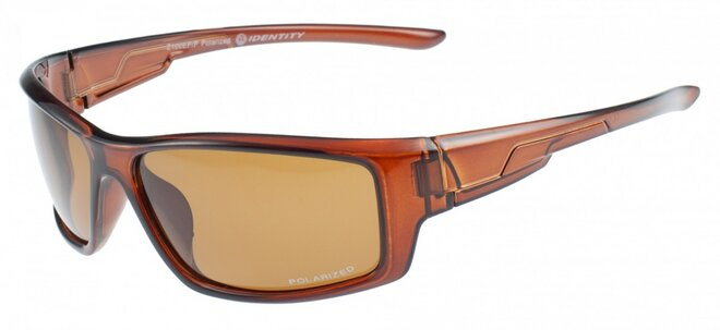 Polarizační brýle 100EP hnědé sklo