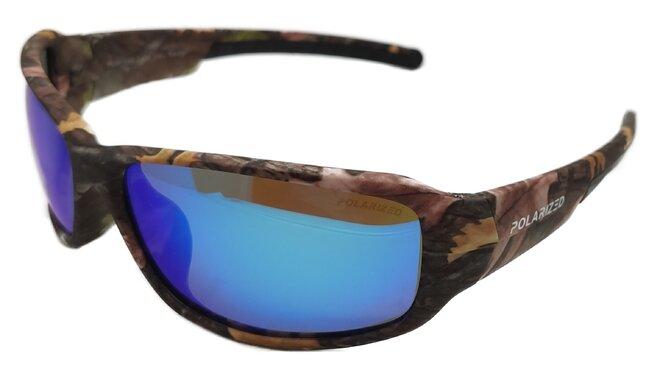 Polarizační brýle 2.94 hnědé/modré zrcadlovky