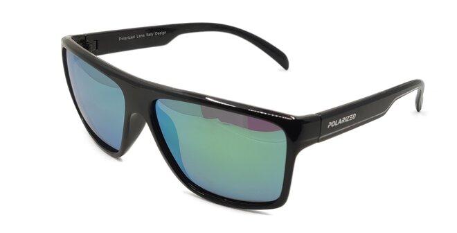 Polarizační brýle 2.122 tmavé modro-zelené zrcadlovky