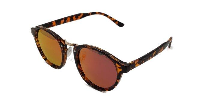Polarizační brýle 2.126 hnědo-oranžové zrcadlovky