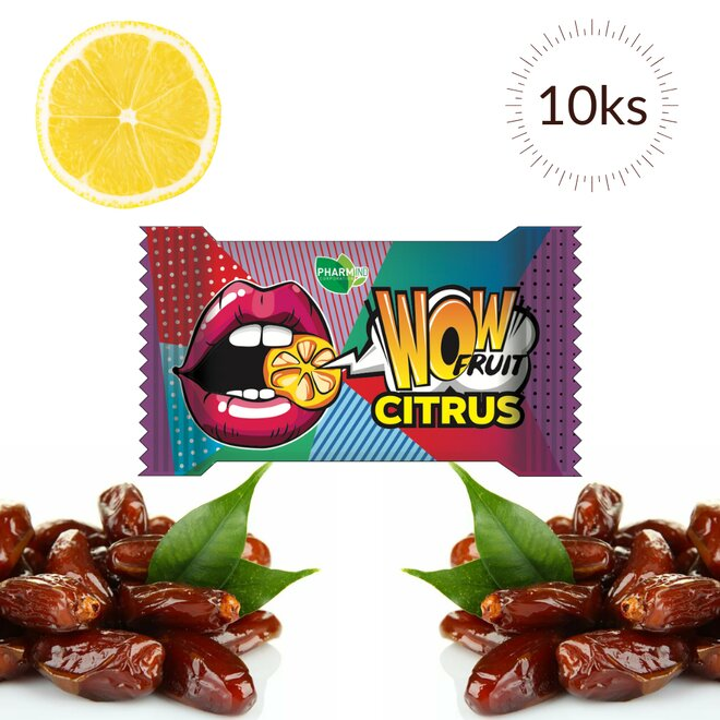 10× 10 g Wow Fruit Citrus